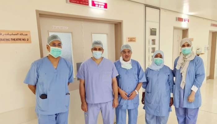Sur Hospital performs its first rhinoplasty