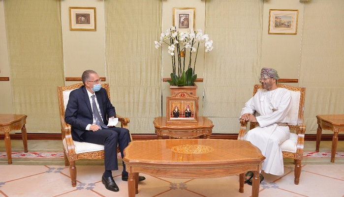 Foreign Minister receives credentials of UK, Egyptian Ambassadors