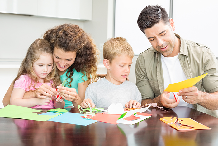 How creativity and crafting can bring families together