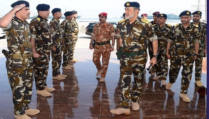 His Majesty visits Said bin Sultan Naval Base