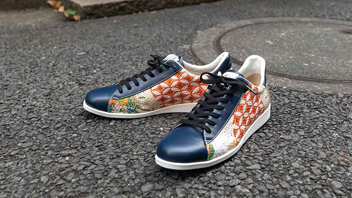Comfortable Japanese sneakers designed with research