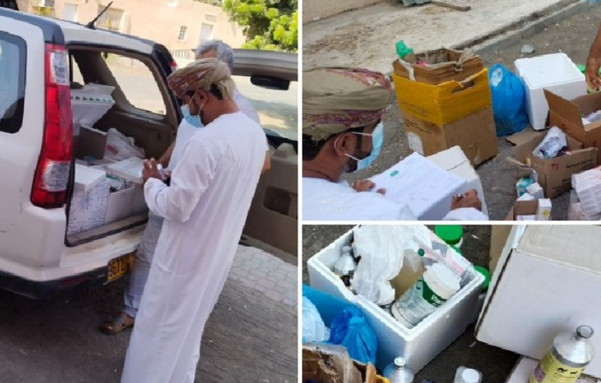 Ministry seizes illegal veterinary pesticides, expired medicines in Sohar