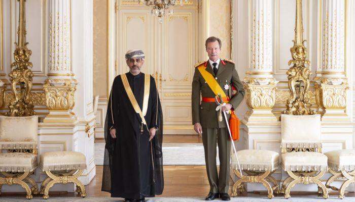 سفير السلطنة لدى لكسمبورغ يقدم أوراق اعتماده