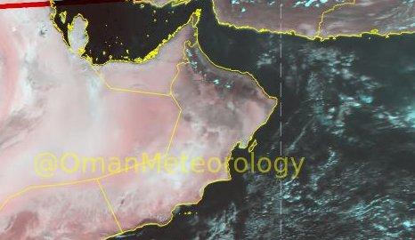 أمطار رعدية متوقعة فترة الظهيرة والمساء في عدة مناطق