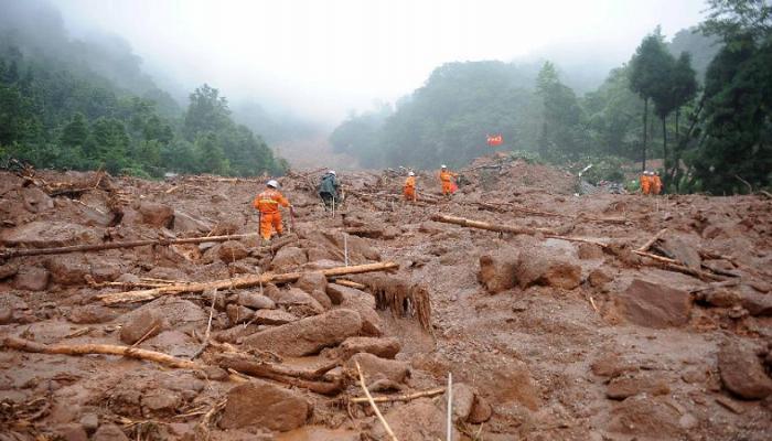 فقدان أكثر من 10 أشخاص جراء انهيار طيني في الصين