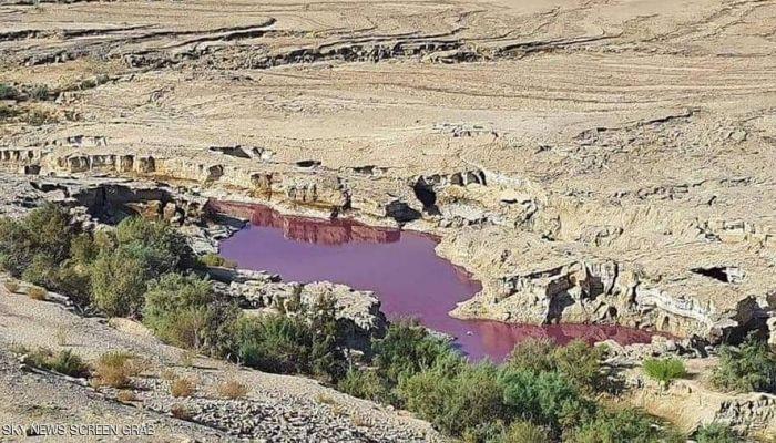 الكشف عن سر 'المياه الحمراء' في البحر الميت
