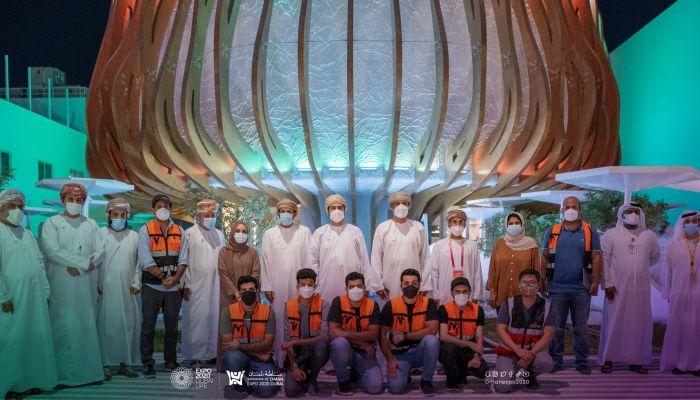 اليوسف يزور جناح السلطنة في إكسبو 2020