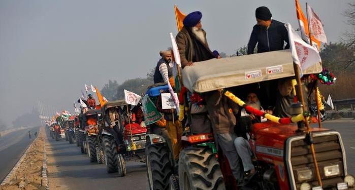 Farmers blocks roads, rail tracks in nationwide protest in India