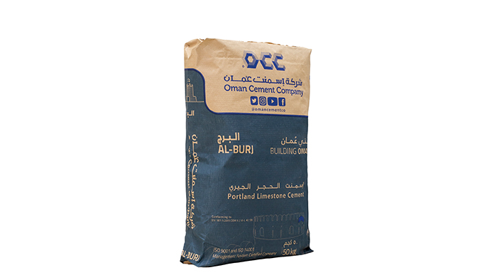 Oman Cement Company develops and markets Al Burj Cement Product