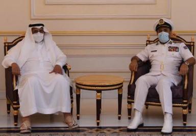 قائد القيادة العسكرية الموحدة لدول مجلس التعاون يصل السلطنة