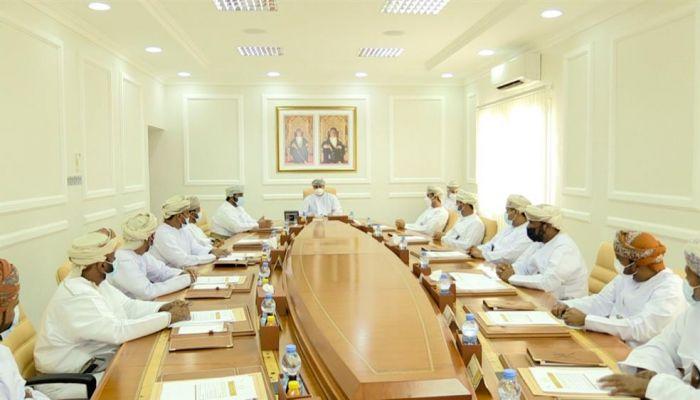 اجتماع المجلس البلدي بمحافظة الوسطى