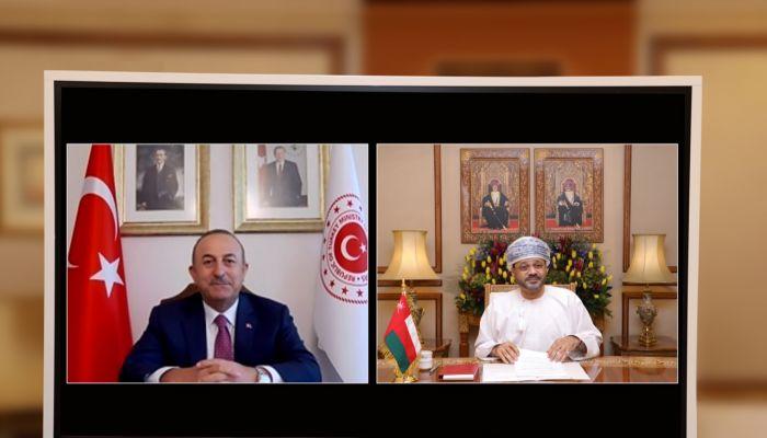 وزير الخارجية يتابع تطور التعاون الاقتصادي والاستثماري بين السلطنة وتركيا