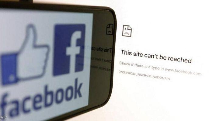 فيسبوك تكشف سبب تعطل خدماتها