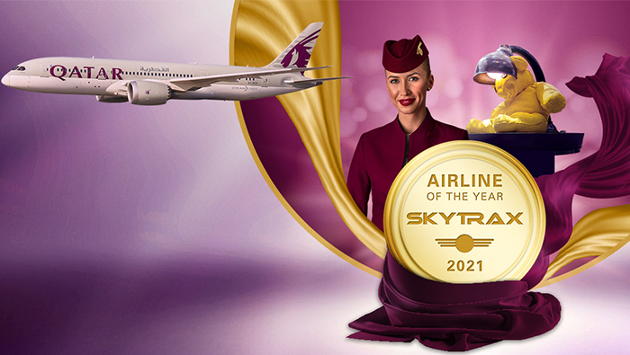 Qatar Airways announced as 'Airline of the Year'