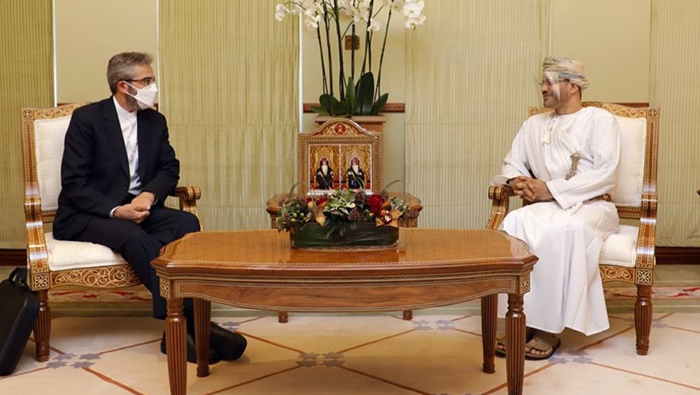 Oman, Iran discuss ways to further boost cooperation