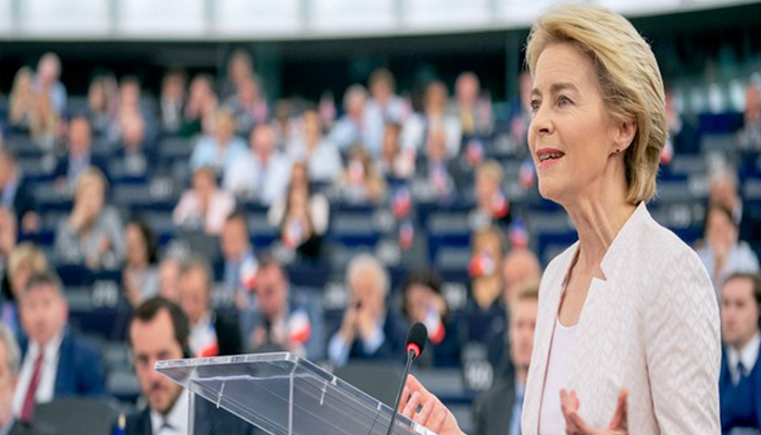 EU to invest 1 trillion euros in sustainable energy by 2030: Von Der Leyen