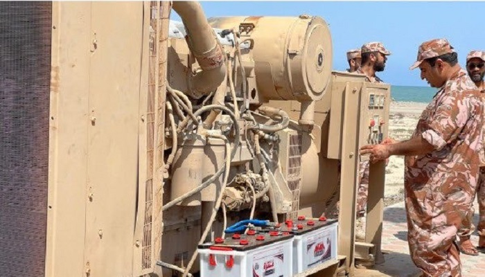 Oman's Defence Ministry installs generators in North Al Batinah