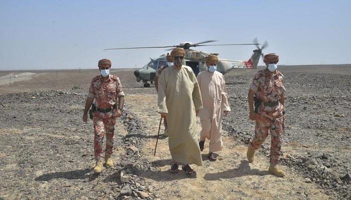 HH Sayyid Shihab visits North, South Al Batinah to inspect damage