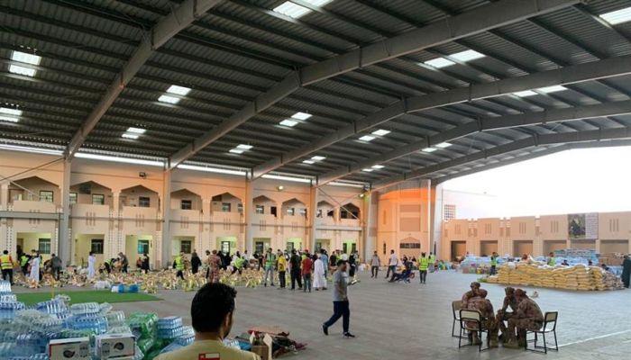 الهيئة العُمانية للأعمال الخيرية تواصل أعمال التعافي من أضرار 'شاهين' بمحافظة شمال الباطنة