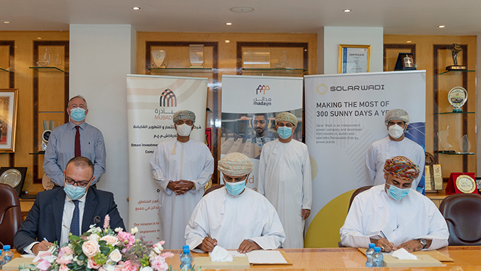 Pact signed to construct 100MW solar PV farm in Sohar Industrial City