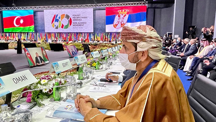 Oman affirms support to principles of the NAM