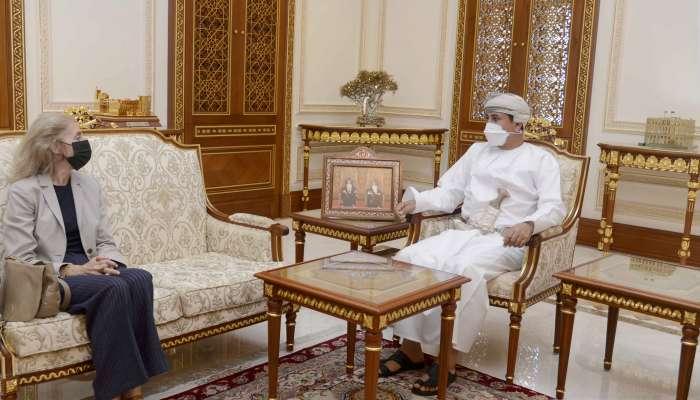 Oman Royal Office Minister receives Spanish Ambassador