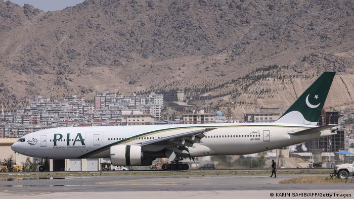 Afghanistan: Pakistan International Airlines suspends flights from Kabul