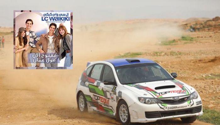عبدالله الرواحي يشارك في رالي الأردن الدولي